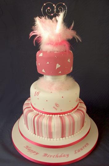16th birthday cakes uk